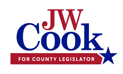 JW Cook for Monroe County Legislator Logo